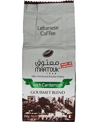 maatouk libanesas café con Cardamomo Gourmet mezcla, 200 g | 450 G: Amazon.es: Alimentación y bebidas