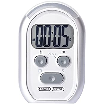 x-wlang 3-in-1 Alerts timer 1013 with vibration ,beep and flash.(kitchen timer ,medical timer,therapeutic timer)