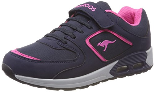 Kangaroos Enfant dk daisy 4204 4000 Navy Baskets Mixte Pink Ev X Kanga Bleu Y8gwxSY
