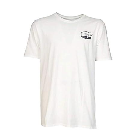 Nike Qt tee TN Air Droptail - Camiseta de Manga Corta para Hombre, Color Blanco