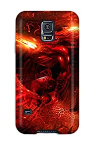 Anne C. Flores's Shop New Style 6154019K41341293 Special Skin Case Cover For Galaxy S5, Popular Trajectories Abstract Battle Cosmic Warped Reality Sci Fi People Sci Fi Phone Case