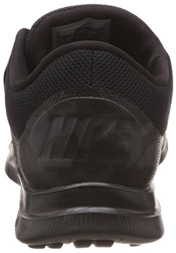 Nike Free Socfly, Zapatillas de Running para Hombre Negro / Gris (Black/Anthrct-Anthrct-Drk Gry)