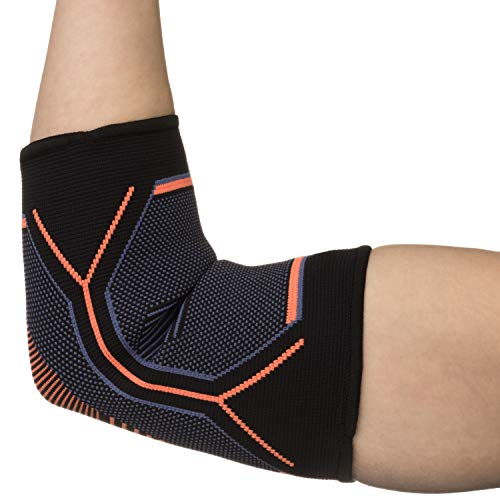 Kunto Fitness Elbow Brace Compression Support Sleeve for Tendonitis, Tennis Elbow, Golf Elbow Treatment – Reduce Joint Pain During Any Activity! (Small) by Kunto Fitness Products (Image #2)