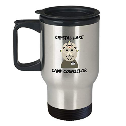 Jason, movie, travel mug, coffee mug, horror, funny, halloween, samhain, classic, cult, ghost, scary, character for $<!--$24.95-->