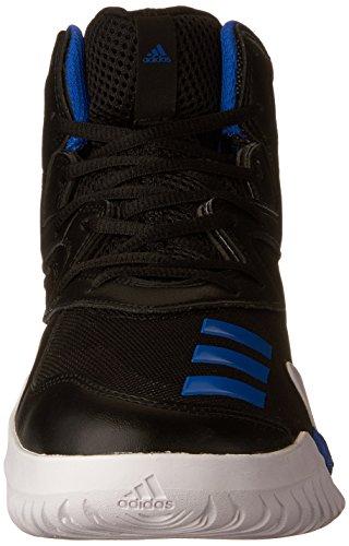 adidas Crazy Team 2017 Schuh Herren Basketball Schwarz / Blau-Grau