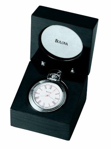 Ebony Tabletop Clock - 5