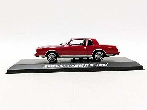 Greenlight Jesse Pinkman's 1982 Chevrolet Monte Carlo Breaking Bad (2008-2013) TV Series 1/43 86501