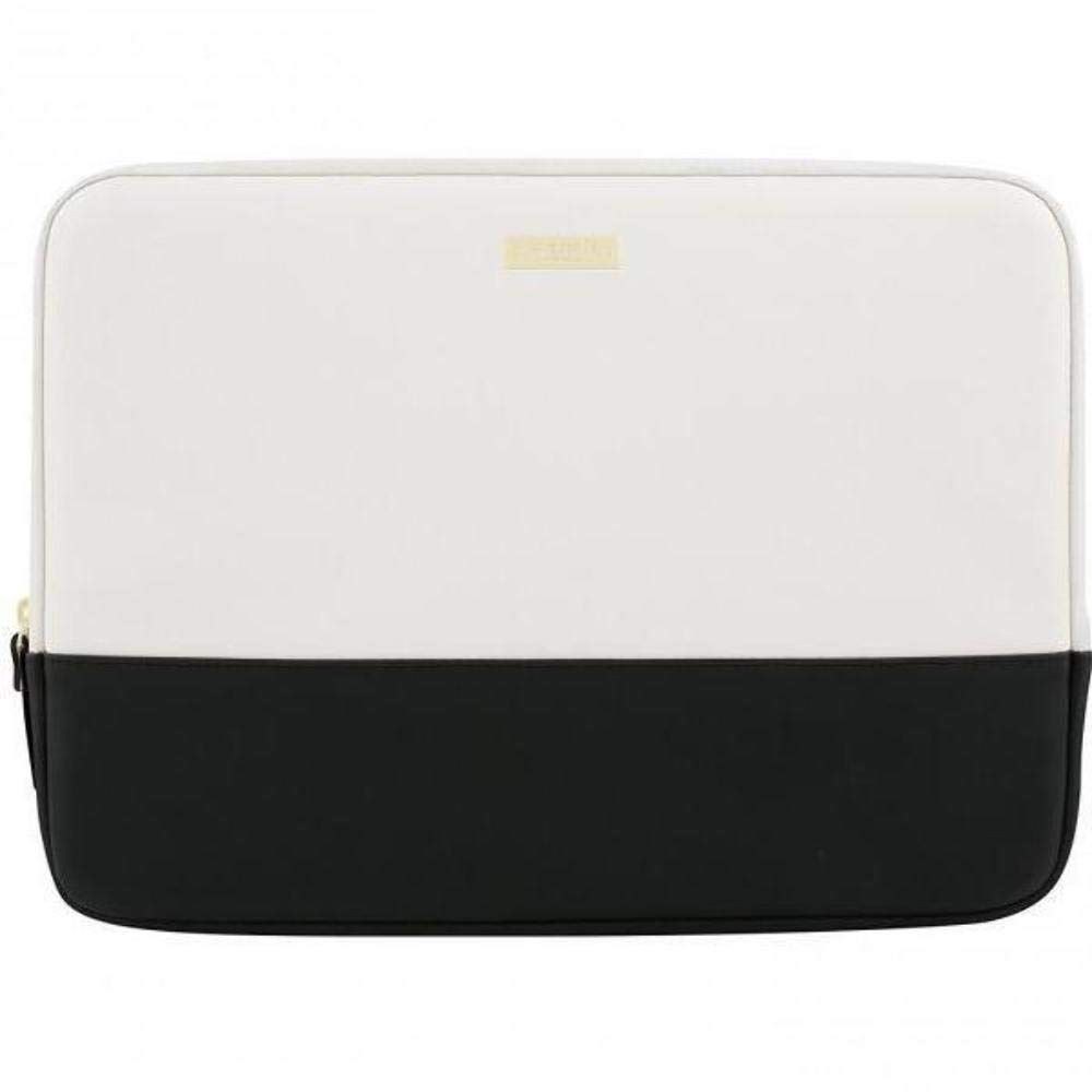 quality design 2cc69 78bfc kate spade New York Color Block 13 MacBook Air Sleeve (Black/Cement/Gold)