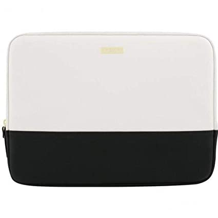 quality design 13f98 2488a kate spade New York Color Block 13 MacBook Air Sleeve (Black/Cement/Gold)