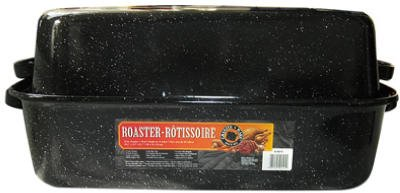 Granite Ware 0511-3 22'' GraniteWare™ Covered Rectangle Roaster by Columbian Home