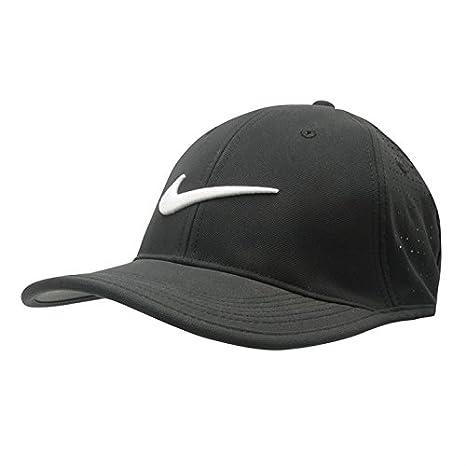 Nike Ultra perforado para hombre Gorra de golf (Negro, para hombre ...
