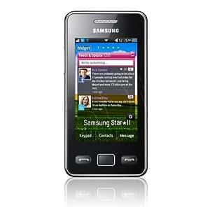"""Samsung S5260 Star II Rengent - Móvil libre (pantalla táctil de 3"""", cámara 3.15 MP, 30 MB de capacidad) color plata"""