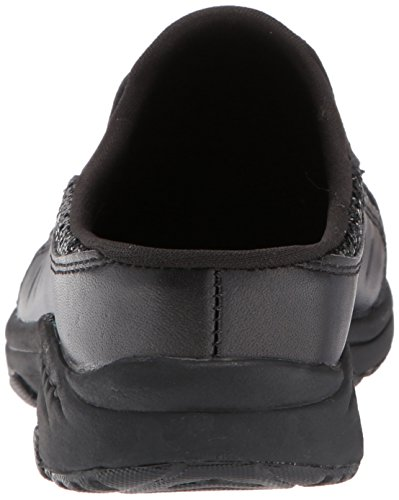 Spirit Women's Black Mule Leather Traveltim292 Easy Black fSqOwOR