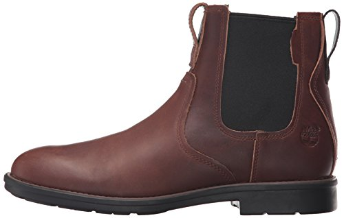 Timberland Men's Carter Notch Chelsea Boot, Dark Brown Full Grain, 10 D(M) US by Timberland (Image #5)