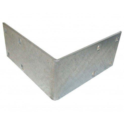 (Dock Hardware Galvanized Outside Corner DH-E)