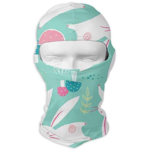 White Rabbit Outdoor Cycling Ski Motorcycle Balaclava Mask Sunscreen Hat Windproof Cap