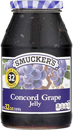Smucker's  Concord Grape Jelly, 32 Ounce
