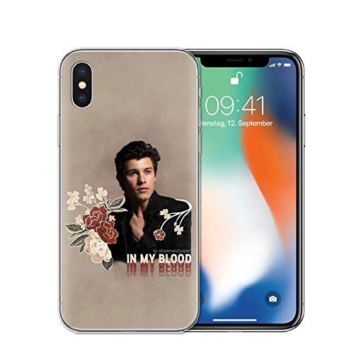 best service fce66 20521 Amazon.com: iPhone X/Xs Case. Singer Shawn Mendes Magcon Soft ...