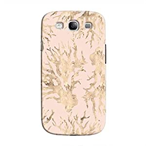 Cover It Up - Pink Pastel Nature Print Galaxy S3 Hard Case