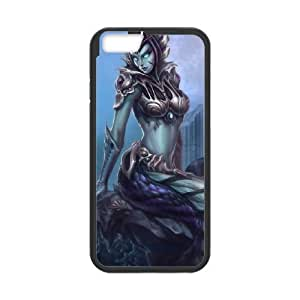 iPhone 6 Plus 5.5 Inch Cell Phone Case Black League of Legends Siren Cassiopeia PD5341705