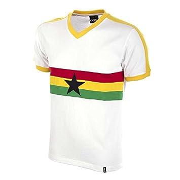 COPA Football - Camiseta Retro Ghana años 1980 (XXL): Amazon.es: Deportes y aire libre
