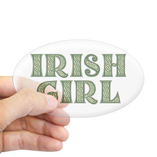 Irish Girl Sticker Bumper - 2