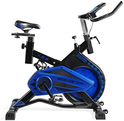 ECO-DE Bicicleta Spinning Shark. Uso semiprofesional con ...