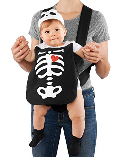 Carter's Baby Boys' Costumes 119g122 (OS, Black/Skeleton)