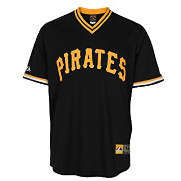 Majestic MLB Roberto Clemente  21 Pirates Cooperstown Replica Jersey (Large) 54b127761