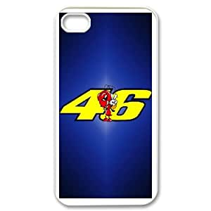 DIY Stylish Printing Marc Marquez Cover Custom Case For iPhone 4,4S V6Q913350
