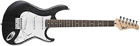CORT G100 NEGRO abrir los poros Guitarras eléctricas Stratocaster ...