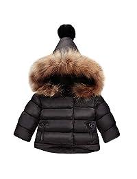 Happy Cherry Cotton Jacket Coat Long-Sleeved Winter Outerwear Boys Girls