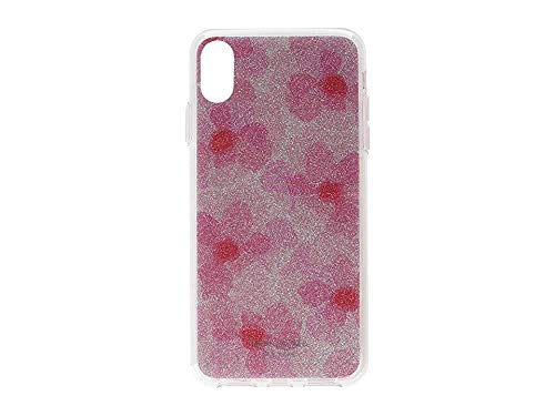 Kate Spade York Women's Glitter Abstract Peony Phone Case IPhone Xs Max Pink Multi One Size