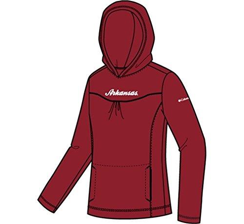 Columbia Girl's Arkansas Collegiate GlacialTM Fleece Hoodie