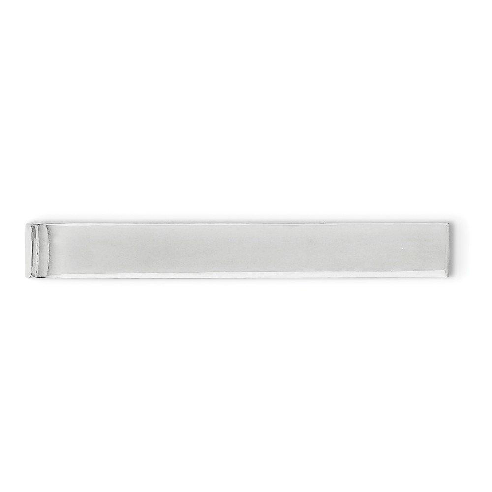 Sterling Silver Engravable Tie Bar