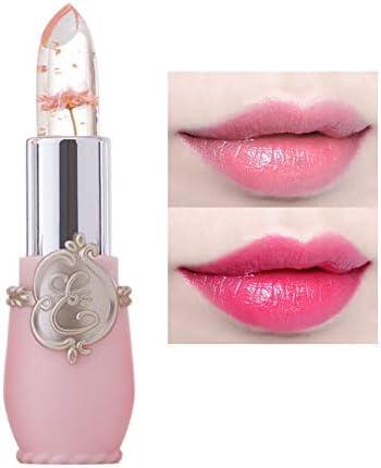 Xiton 1 PC gelée de fleurs Rouge à lèvres Lèvres Hydratant Long Lasting Baume à lèvres changeant de couleur magie Rouge à lèvres Ingrédients naturels