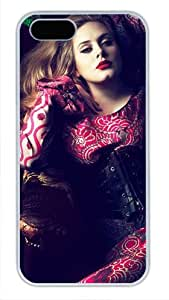 Adele Vogue Beyonce Cover Case for iPhone 5/5S - Carrying Case - White