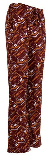 Elite Fan Shop Virginia Tech Hokies Womens Sleep Pants Maroon Marquee - L ()
