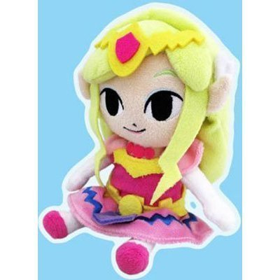 """Sanei The Legend of Zelda The Wind Waker 7.5"""" Princess, used for sale  Delivered anywhere in USA"""