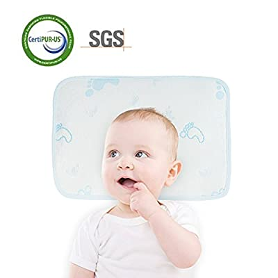 Baby Pillow for Newborn Prevent Flat Head Cooling Pillow