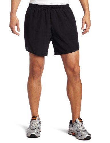 Soffe Men's Navy Running Short With Pocket, Black, Large from Soffe