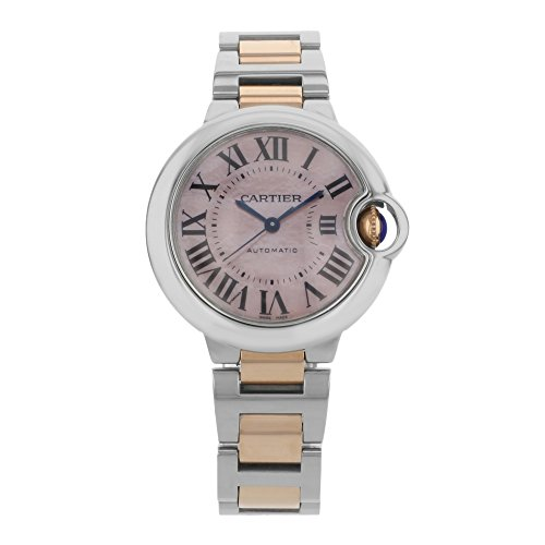 Cartier Ballon Bleu Mother of Pearl Automatic Ladies Watch W6920098
