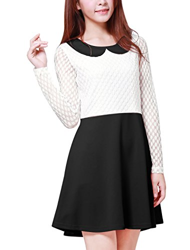 peter pan collar dresses - 8