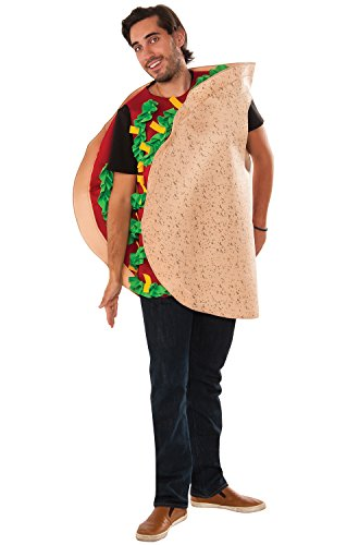 [Rubie's Men's Taco Costume, Multi, One Size] (Bacon And Egg Halloween Costume)