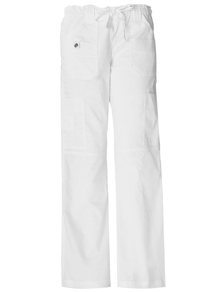 Dickies 'Youtility Cargo Pant' Scrub Bottoms Dickies White X-Small Tall