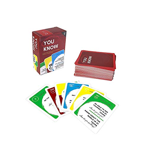 (You Know Social Skills Games and Therapy Games, A Fun Game That Opens Communication and Encourages Meaningful Conversations to Establish Relationships)