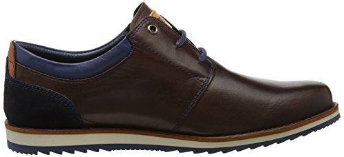 Para Derby i17 Zapatos Pikolinos Biarritz Hombre olmo De Cordones M5a Marrón qCnA1w0