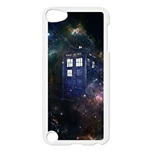 YUAHS(TM) DIY Cover Case for Ipod Touch 5 with Doctor Who, Police Box YAS040574