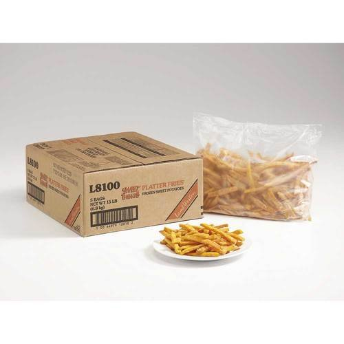 Lamb Weston Sweet Things Platter Potato Fry Snack, 2.5 Pound -- 6 per case.