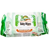 Bum Boosa Bamboo Baby Wipes, 80 Count (Pack of 24)